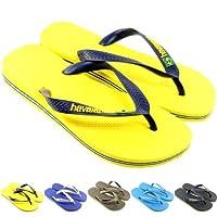 Mens Havaianas Brasil Logo Flip Flop Sandals