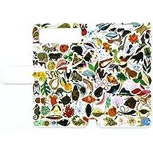 Flip Pu Leather Carcasa Cover para Funda Mywigo Wings 3 Negro Mwg 509-3-B Funda DW