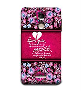 Fuson Designer Back Case Cover for Coolpad Note 5 ( Love Quotes Inspiration Emotion Care Fun Funny )