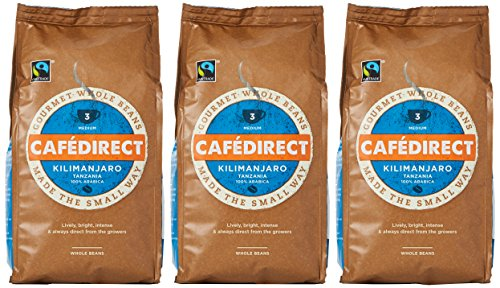 A photograph of Cafédirect Kilimanjaro
