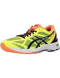 Zapatillas para correr GEL DS Trainer 21 para hombre, Amarillo intermitente / Naranja negro / caliente, 8 M US