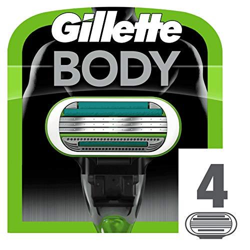 Gillette Body - Cuchillas recambio maquinilla depilar