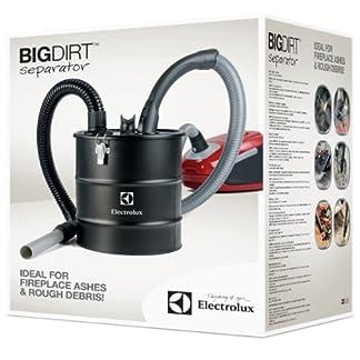 Electrolux ZE 003 Big Dirt – Separador de Suciedad de 20 L para Cenizas de la Chimenea o Barbacoa, Tierra, vidrios, serrín, 20 Liters, Negro