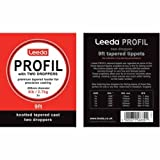 Leeda Profil 9ft Tapered Leaders wirh 2 Droppers (6lb (2X))