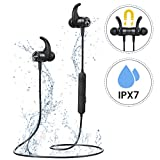 Mpow Bluetooth Headphones, Wireless Earphones [Up to 9 Hrs] Playing Time In-Ear Earbuds