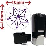 PRIMARY Teaching Services 10mm Mini voreingefärbter selbstfärbende Star Kennzeichnung-Stempel, Violett