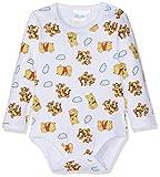 Disney Winnie l'ourson Baby-Jungen Formender Body 2136 Weiß, 12-18 Monate
