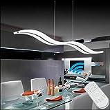 LED Pendelleuchte Dimmbar Lüster Moderne LED Kronleuchter Wohnzimmerlampe LED,LIUSUN LIULU® 38W Deckenleuchten Hängel