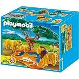 Playmobil 4830 - Familia de Leones y Monos