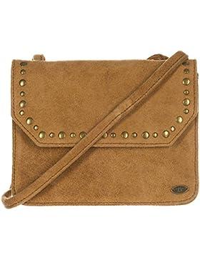 Animal Xeno Leather Cross Body Bag - Tan