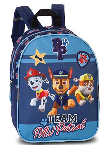Paw patrol - zaino per bambini dai 3 ai 6 anni, colore: blu