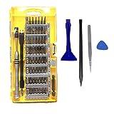 TedGem 64 en 1 Destornilladores de Precisión, Magnética Destornillador Set, kit de destornilladores herramienta de reparación profesional para disposi