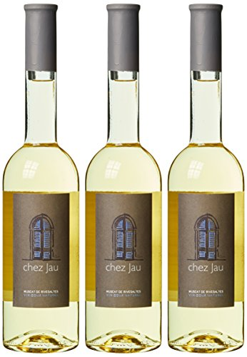 Chateau de Jau Muscat de Rivesaltes Vin Doux Naturel, 3er Pack (3 x 500 ml)
