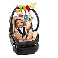 Affe Babybett Stroller weichem Tier Hanging Musik Spielzeug Kinderwagen Spielzeug preisvergleich bei kleinkindspielzeugpreise.eu