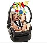 Affe Babybett Stroller weichem Tier Hanging Musik Spielzeug Kinderwagen Spielzeug (Wurm)