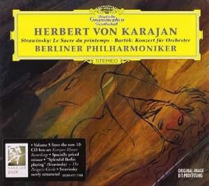 Stravinsky: Rite of Spring; Bartok: Concerto for Orchestra