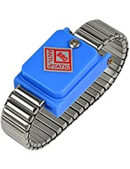 MENGS® poignet de métal sans fil bracelet antistatique sans fil sans fil de terre de l'acier inoxydable