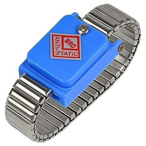 Bracelet Antistatique - MENGS® poignet de métal sans fil bracelet