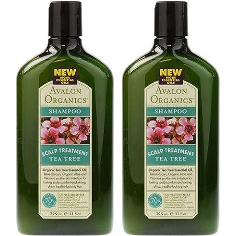 - Avalon - Tea Tree Scalp Treat Shampoo | 325ml | BUNDLE by Avalon