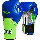 Everlast Boxing Gloves Elite Pro Style Blue/Green