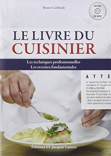 Le livre du cuisinier (1Cdrom)