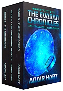 The Evaran Chronicles Box Set: Books 1-3 (English Edition) de [Hart, Adair]