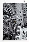 Eau Zone Bilder - City - New York aus der Höhe- Leinwand Kunstdrucke Wandbilder aus Deutschland