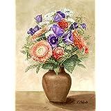 "Kunstdruck nach Aquarell: ""Blumen (1)"""