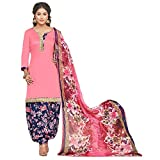 EthnicJunction Women's Glace Cotton Pati...