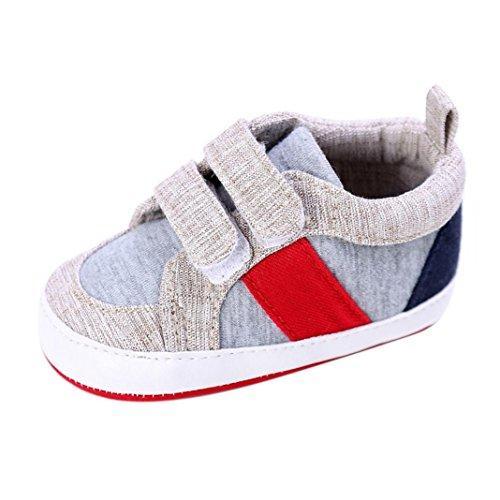 c668264ae5b67 Bébé Chaussure,LMMVP Chaussures de Bébé Fille Garçon Nouveau-né Chaussures  à Semelle Souple