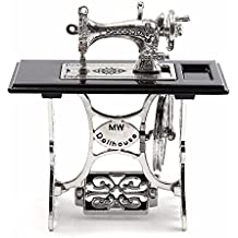 Yosemite Mini máquina de coser en miniatura para 1/12 escala casa de muñecas DIY