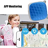 Mini GPS Verfolger Podofo GSM/GPRS Echtzeit-Locator mit kostenloser Google Map Wasserdicht Smart Anti-Lost Tracking-Gerät für Kinder Elder Pets Vehicle Support Android & IOS APP und PC - 7