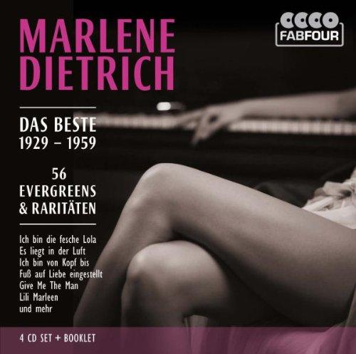 Marlene Dietrich - Das Beste 1929-1959 (4 CD FabFour) Marlene Dietrich Dvd