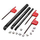 Saver SCLCR 7x125mm 10x125mm 12x150mm Lathe Bohrstange Tunring Werkzeughalter mit 10 Stück CCMT0602 Insert