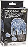 University Games 3-D Crystal Puzzle -Elephant