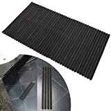 42 x 45*2cm Schwarz Selbstklebende ANTI Rutsch Streifen für Treppe Stufe Bad Dusche Badewanne Wanneneinlagen Antirutschstreifen Klebestreifen Rutschschutz