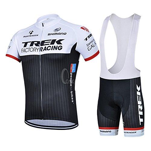 Strgao 2016 Herren Pro Rennen Team Trek MTB Radbekleidung Radtrikot Kurzarm und Tr?gerhose Anzug Bib shorts suit