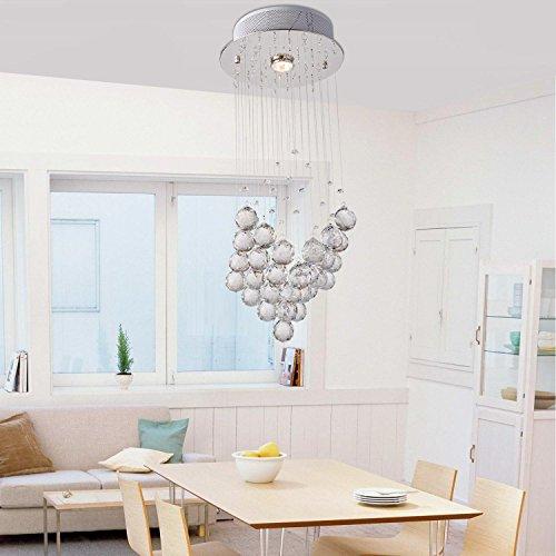 cristallo semplice ed elegante lampade a lampadari di cristallo ristorante