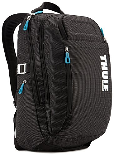 THULE TCBP115K Sac à Dos Nylon pour Ordinateur Portable 15,6'/Tablette 10,1' No