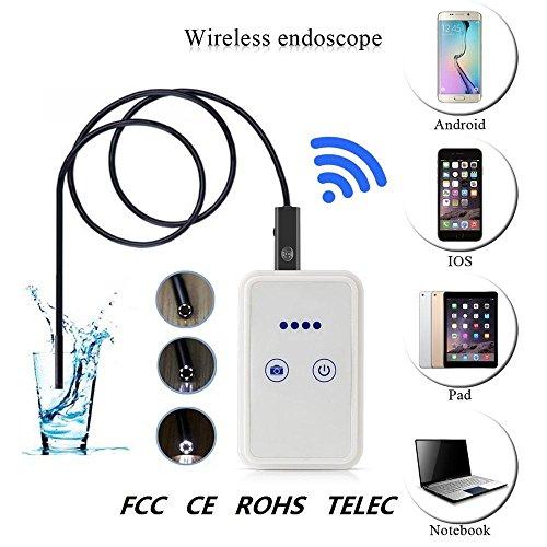 Kobwa IP67impermeable inalámbrica Wifi endoscopio