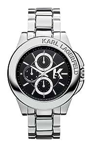 Karl Lagerfeld - KL1405 - Montre Homme - Quartz - Analogique - Bracelet Acier inoxydable Argent