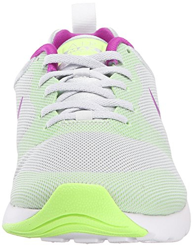 Nike Women's Nike Air Max Siren Platinum Green Running Shoes Grey
