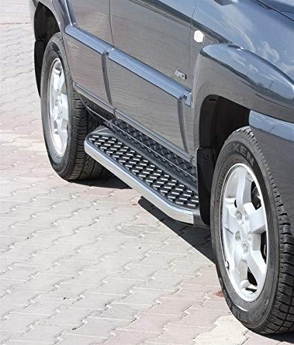 Preisvergleich Produktbild Trittbretter Hyundai Tucson ab Baujahr 2005-2010 Model Hitit Chrom