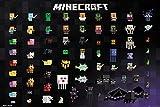 GB Eye, Minecraft, Pixel Sprites, Maxi Poster