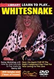 Lick Library: Learn To Play Whitesnake. Pour Guitare