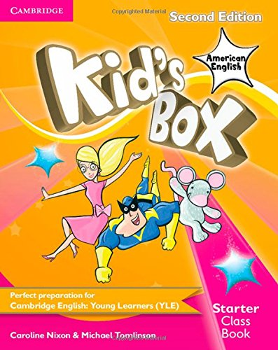 Kid's Box American English Starter Class Book with CD-ROM 2nd Edition - 9781107430990