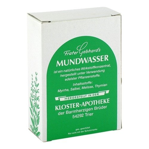 FRATER GEBHARDS Mundwasser 50 ml Lösung