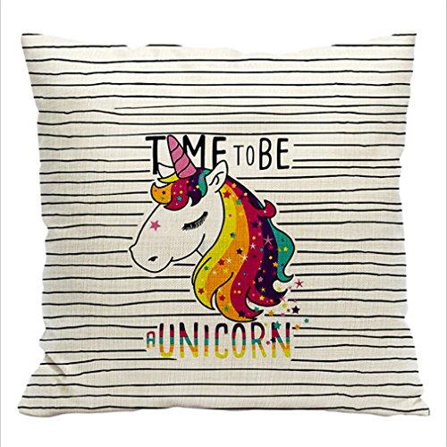 HENGSONG-Stripes-Licorne-Cartoon-Impression-Carr-Housse-Coussin-Linge-de-Coton-Sofa-Couverture-Oreiller-Taie-Maison-Decor-45x45cm