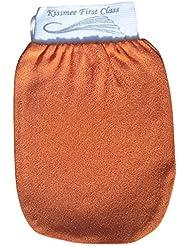 KISSMEE First Class Peelinghandschuh, Farbe Sahara, Größe Normal