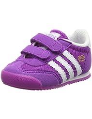 adidas Dragon CF I, Zapatos de (1-10 Meses) Unisex Bebé, Morado (Pursho / Ftwbla / Pursho), 24 EU